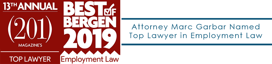 Top Lawyers 2019 Top Employment 2019 Bergen Magazine County